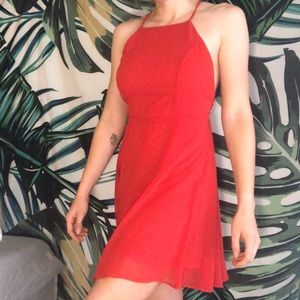 Lulus Red Party Dress